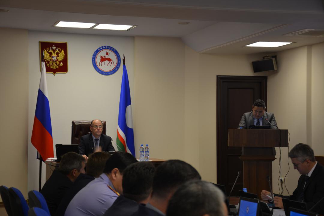 Совместное заседание антитеррористической комиссии и оперативного штаба в Республике Саха (Якутия)