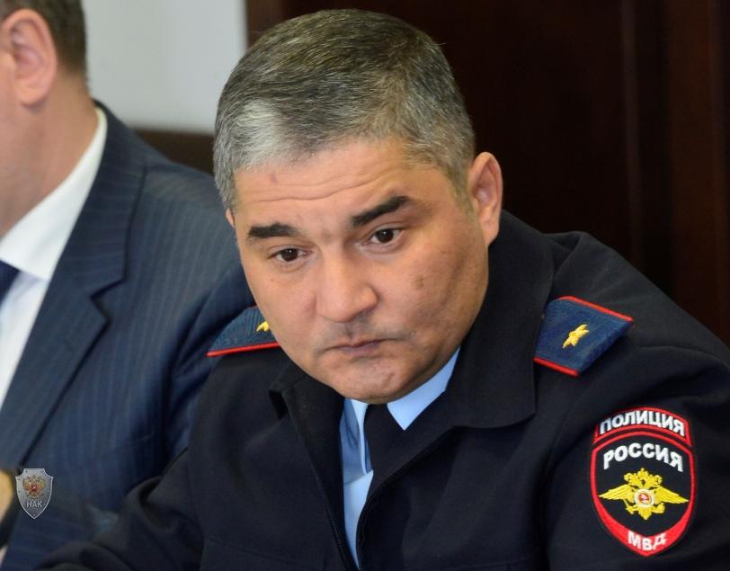 Доклад министра внутренних дел по Республике Тыва А.А. Щура