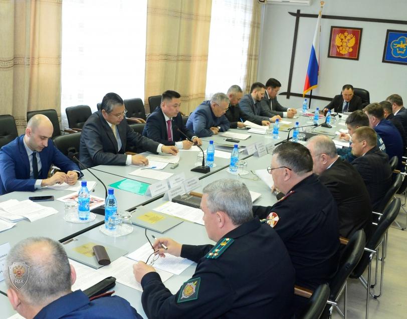 Совместное заседание антитеррористической комиссии и оперативного штаба в Республике Тыва от 26 апреля 2018 года