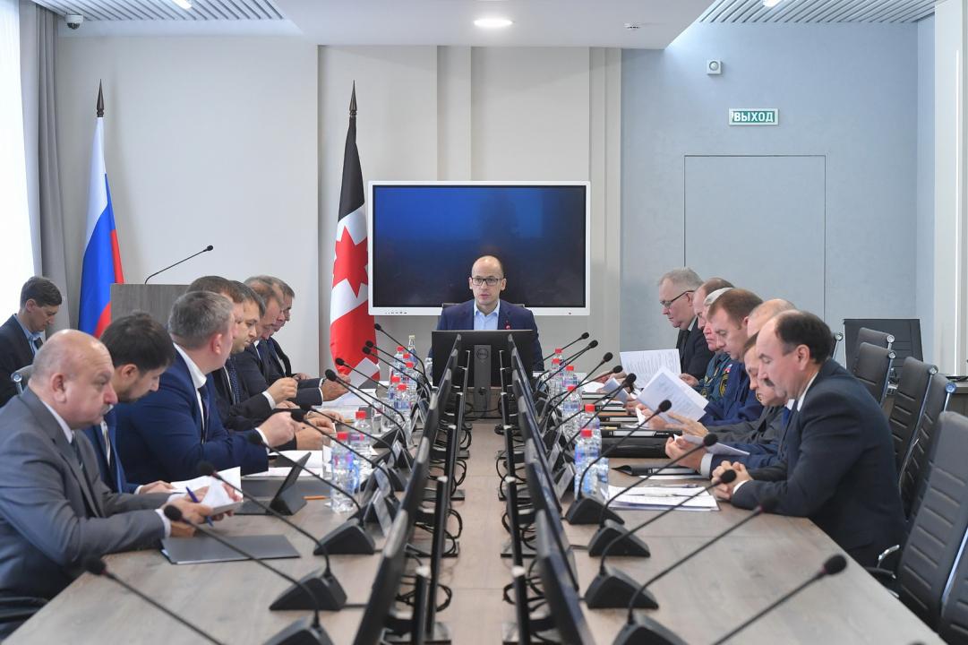 Глава Удмуртии провёл заседание Антитеррористической комиссии
