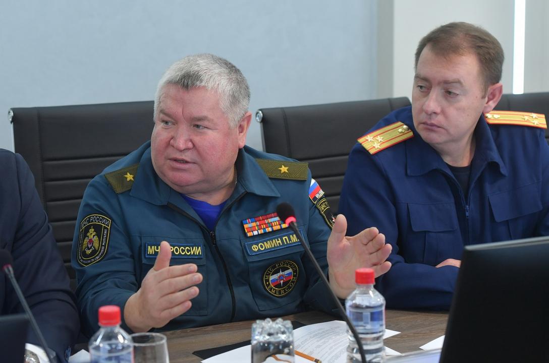Начальник ГУ МЧС России по Удмуртской Республике П.М.Фомин предложил создать межведомственный пресс-центр для освещения возникающих чрезвычайных ситуаций