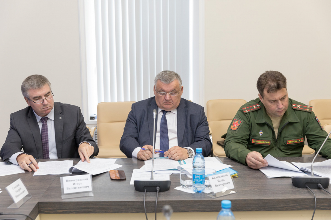 Меры по обеспечению безопасности в День знаний обсудили члены областной антитеррористической комиссии