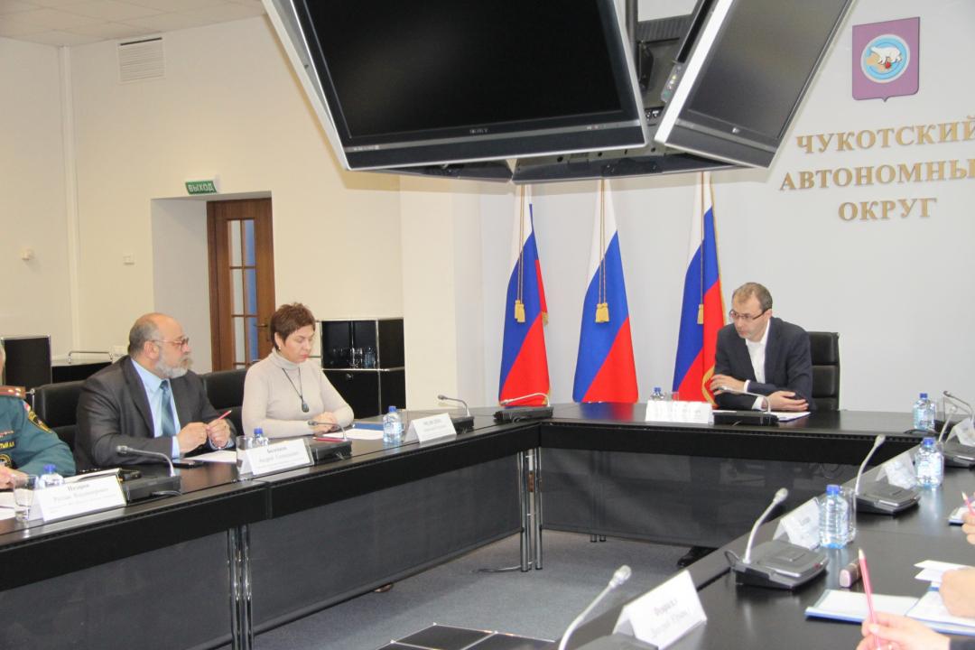 Губернатор Чукотки провёл заседание антитеррористической комиссии