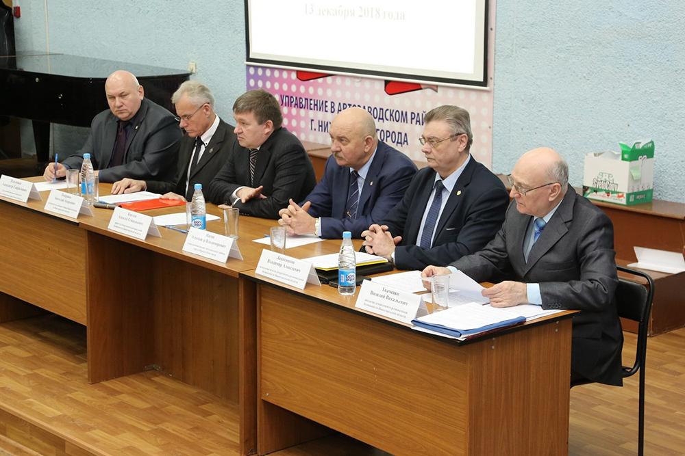 Открытие учебно-методического сбора с секретарями антитеррористических комиссий городских округов и муниципальных районов Нижегородской области 13 декабря 2018 года