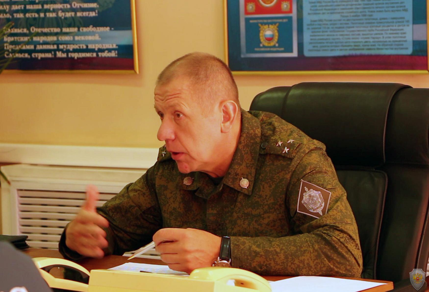 Под руководством оперативного штаба в Республике Тыва проведено антитеррористическое тактико-специальное учение