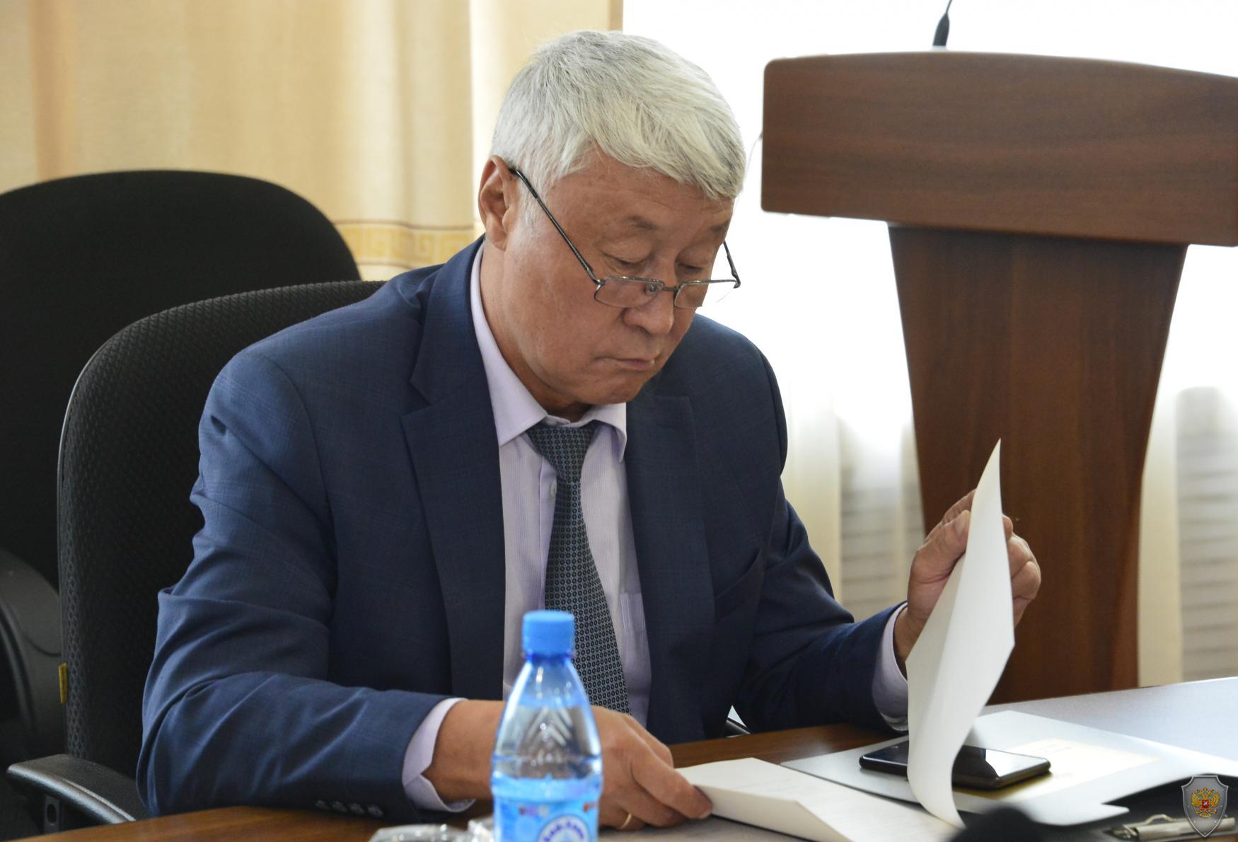 В Туве состоялось расширенное заседание республиканской антитеррористической комиссии