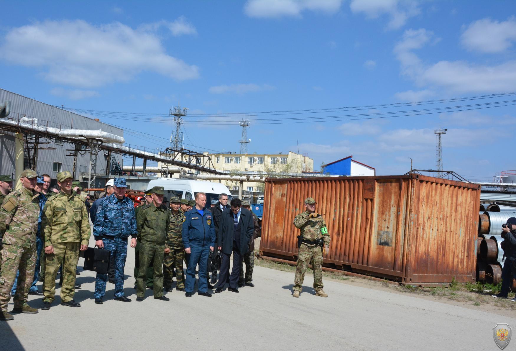 В городе Якутске прошли контртеррористические учения
