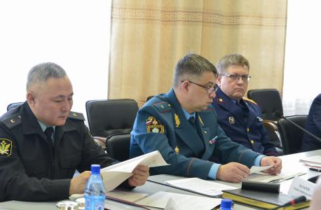 В Туве в преддверии майских праздников принимают дополнительные меры антитеррористической безопасности