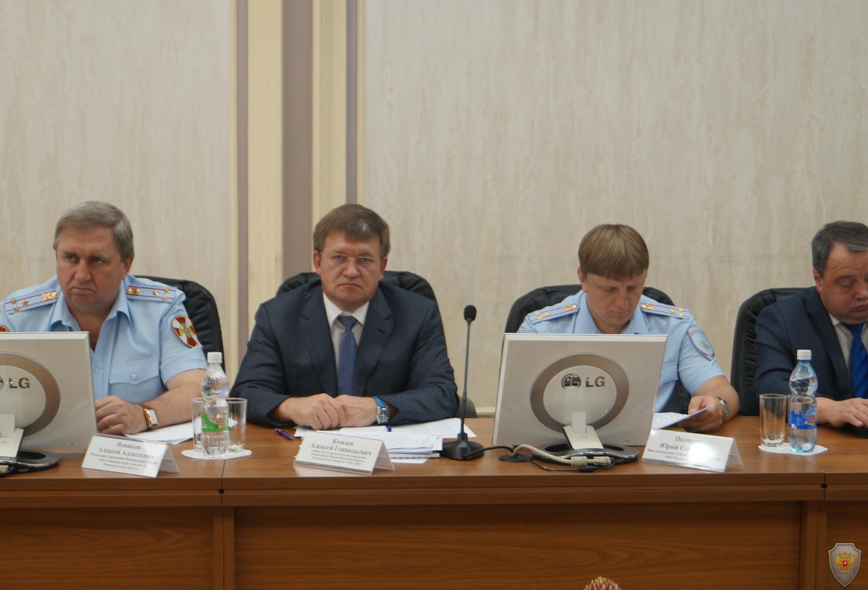 В Нижнем Новгороде проведено совместное заседание Антитеррористической комиссии и Оперативного штаба в Нижегородской области