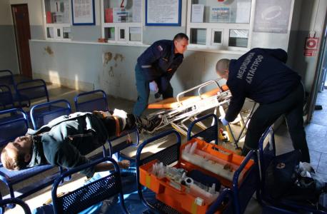 Оперативным штабом в Липецкой области проведено плановое тактико-специальное учение «Циклон-2019»