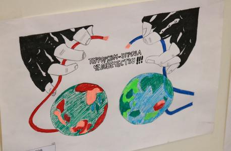 Конкурс рисунков, приуроченного ко Дню солидарности в борьбе с терроризмом