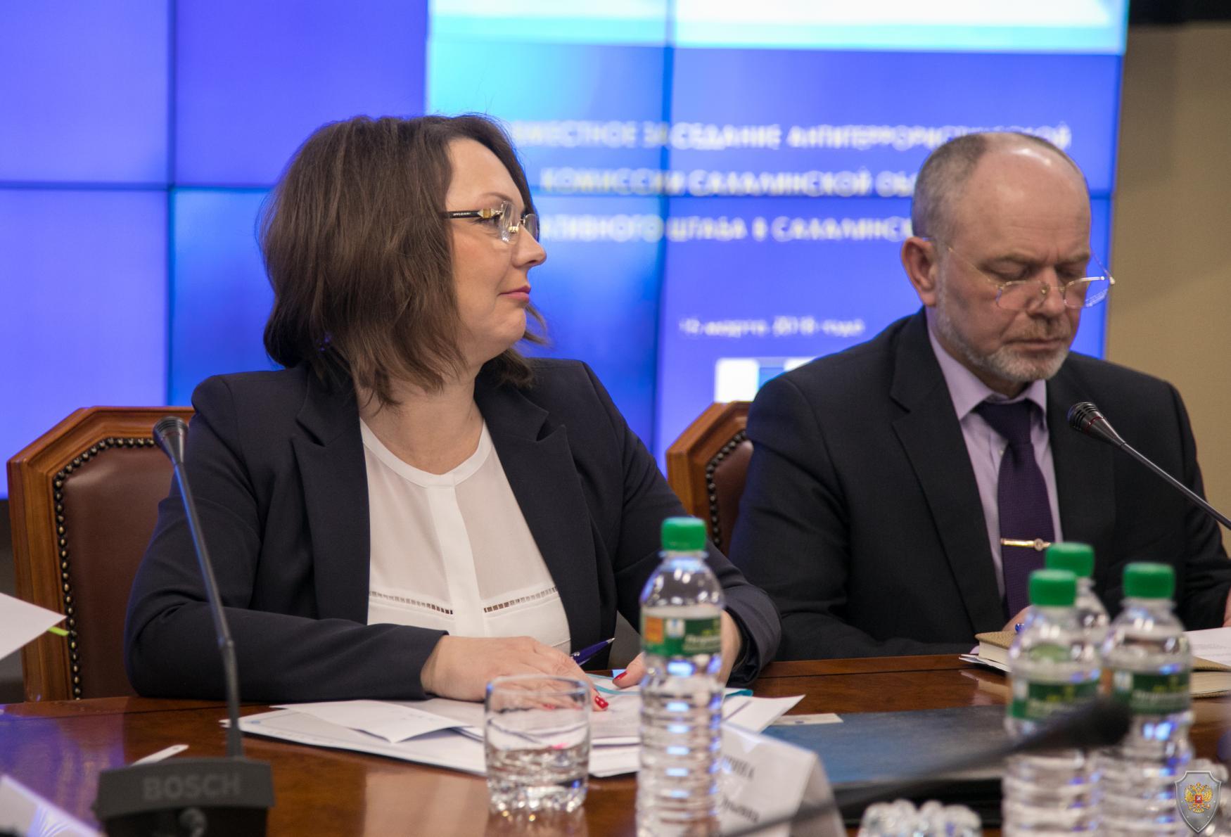 Совместное заседание региональной антитеррористической комиссии и оперативного штаба провел губернатор Олег Кожемяко